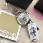 MICHAEL KORS Portia Silver Dial Two-tone Watch MK3709