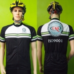 เสื้อปั่นจักรยานแขนสั้น ISO 9001