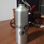 ขวดน้ำจักรยาน สแตนเลส สีเงิน
