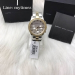 MARC BY MARC JACOBS Henry Chronograph Silver Dial Stainless Steel Ladies Watch MBM3197