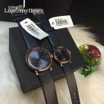 MARC BY MARC Jacobs Baker Navy Dial Navy Leather Ladies Watch MBM1329 & MBM1331