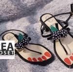รองเท้าแฟชั่น Summer Collection Shoes Black