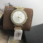 MICHAEL KORS Darci White Pve Dial Ladies Watch MK3727