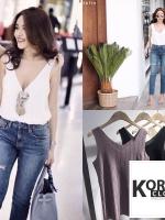 เสื้อกล้ามสไตล์เกาหลี