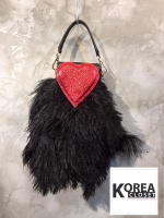 Sending Love Glittering&Fluffy Bag