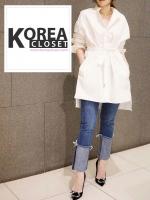 กางเกงยีนส์แฟชั่นปลายขาพับ สไตล์เกาหลี STYLERICH BY KOREA