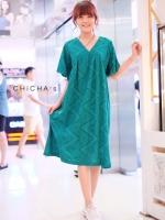 แม็กซี่เดรส Boho Embroidery Dress