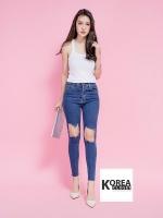 Open knees jeans