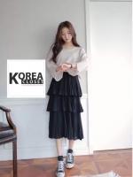 กระโปรงแฟชั่น Triple Layer Skirt