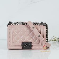 กระเป๋า CC Boy สีชมพู