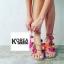 รองเท้าแฟชั่น Summer Pom Pom Sandals thumbnail 2