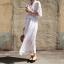 แม็กซี่เดรส Partysu Boho Maxi Dress thumbnail 3