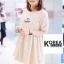 ชุดเดรสแฟชั่น Dotty KoKo Mini Dress thumbnail 6