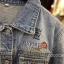 แจ็คเก็ตยีนส์ Sly Flyfirst Embroidery Vintage Denim Jacket thumbnail 10