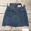 Zara Ripped Denim Skirt thumbnail 4