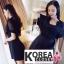 จั๊มสูทขาสั้นแฟชั่นเกาหลี thumbnail 3