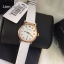 / MARC BY MARC JACOBS Baker White Dial White Leather Band Ladies Watch MBM1284 thumbnail 2