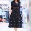 เดรส Boho Embroidery Maxi Dress thumbnail 4