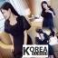จั๊มสูทขาสั้นแฟชั่นเกาหลี thumbnail 2