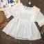 เสื้อลูกไม้ Embroidered Lace Midi Dress thumbnail 9