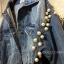 Korea Pearly Denim Jacket thumbnail 6