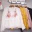 เสื้อแฟชั่น Zara Embroidered Blouse thumbnail 10