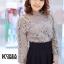 เสื้อแฟชั่น Elegance Lace Blouse by ChiCha's สีขาว thumbnail 9