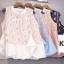 เสื้อแฟชั่นลูกไม้ Two tone Sleeveless Lace Blouse thumbnail 9