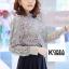 เสื้อแฟชั่น Elegance Lace Blouse by ChiCha's สีขาว thumbnail 7
