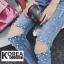 กางเกงยีนส์ Embellished Skinny Jeans thumbnail 3