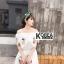 แม็กซี่เดรส Embroidery Floral Maxi Dress thumbnail 5