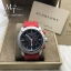 Burberry Sport Chronograph Black Dial Red Rubber Men's Watch BU7706 thumbnail 1
