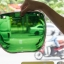 VISOR BELL 3-SNAP BUBBLE DELUXE SHIELD WAYFARER GREEN thumbnail 2