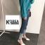 กางเกงยีนส์แฟชั่นปลายขาพับ สไตล์เกาหลี STYLERICH BY KOREA thumbnail 7
