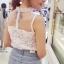 เสื้อลูกไม้ Sweet Floral Lace Blouse thumbnail 4