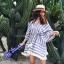 เสื้อแฟชั่น Boho Stripe wt Fringe Top thumbnail 4