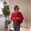 คาดิแกนไหมพรม Korea Balloonsleeves Knit Cardigan thumbnail 9