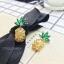 Diamond Pineapple Earrings thumbnail 6