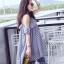 เดรส Lady Stripe Dress thumbnail 5