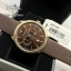 EMPORIO ARMANI Classic Chronograph Brown Dial Brown Leather Men's Watch AR1793 thumbnail 3