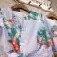 เสื้อแฟชั่นNanda Striped Floral Bowtie thumbnail 8