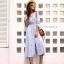 เดรส Boho Embroidery Maxi Dress thumbnail 7