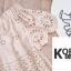 เสื้อแฟชั่นปักฉลุเกาหลี thumbnail 9