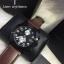 นาฬิกาข้อมือ Marc by Marc Jacobs Larry Chronograph Brown Leather Watch MBM5053 thumbnail 1