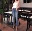 กางเกงยีนส์ Cutout Skinny Jeans thumbnail 1