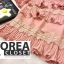 เสื้อแฟชั่นคอวี V-Neck Ruffle-Hem Chiffon Top thumbnail 10