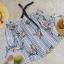 เสื้อแฟชั่น Floral and Stripe Top thumbnail 13
