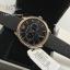 EMPORIO ARMANI Classic Chronograph Black Dial Black Leather Men's Watch AR1792 thumbnail 3