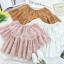 เสื้อแฟชั่น Lala Embroidery Off-Shoulder Blouse thumbnail 6