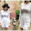 เดรสไหมพรม Korea Knitting Dress thumbnail 1